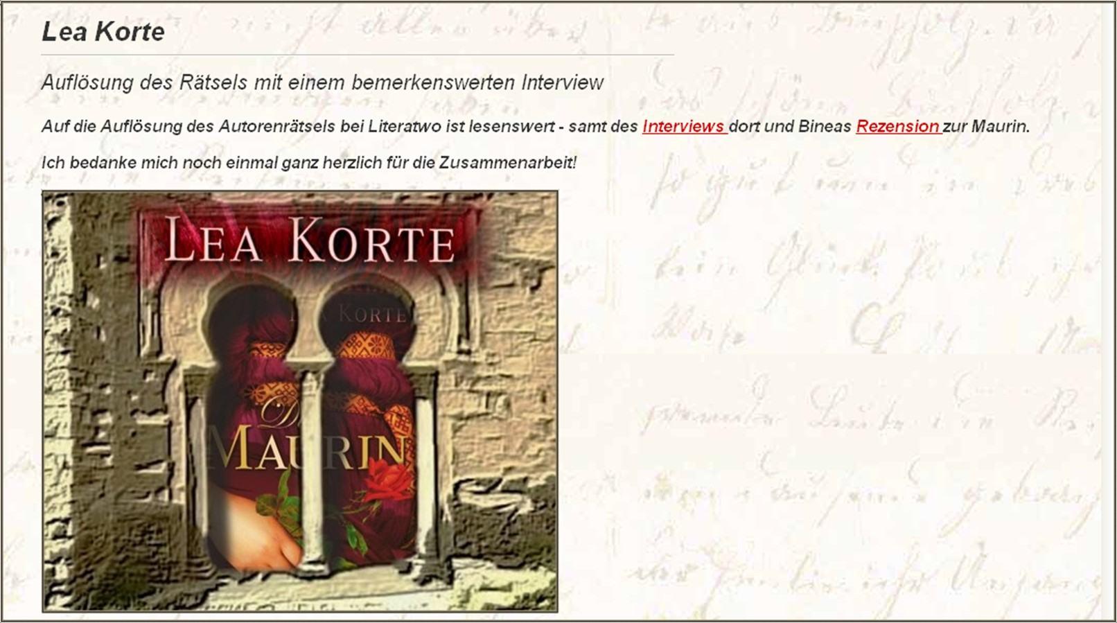KorteHomepage